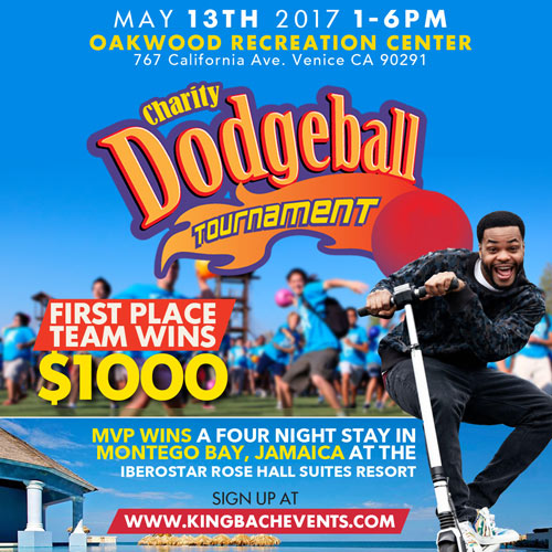 Andrew Bachelor King Bach Charity Dodgeball Event